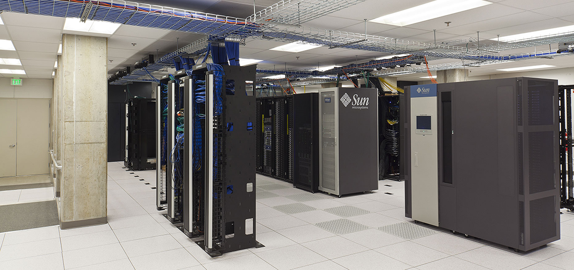JHU Bloomberg Server room