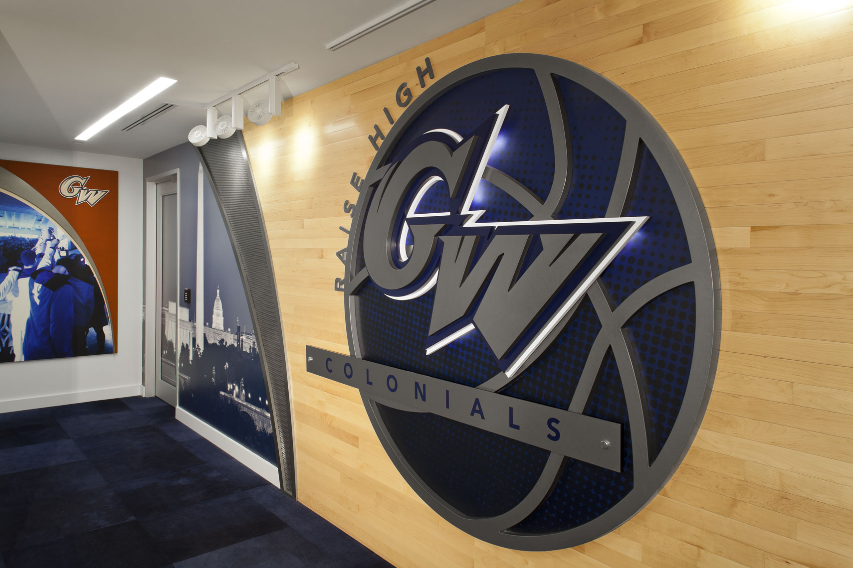 GW UNIV SMITH CENTER LOWER LEVEL RENOVATION